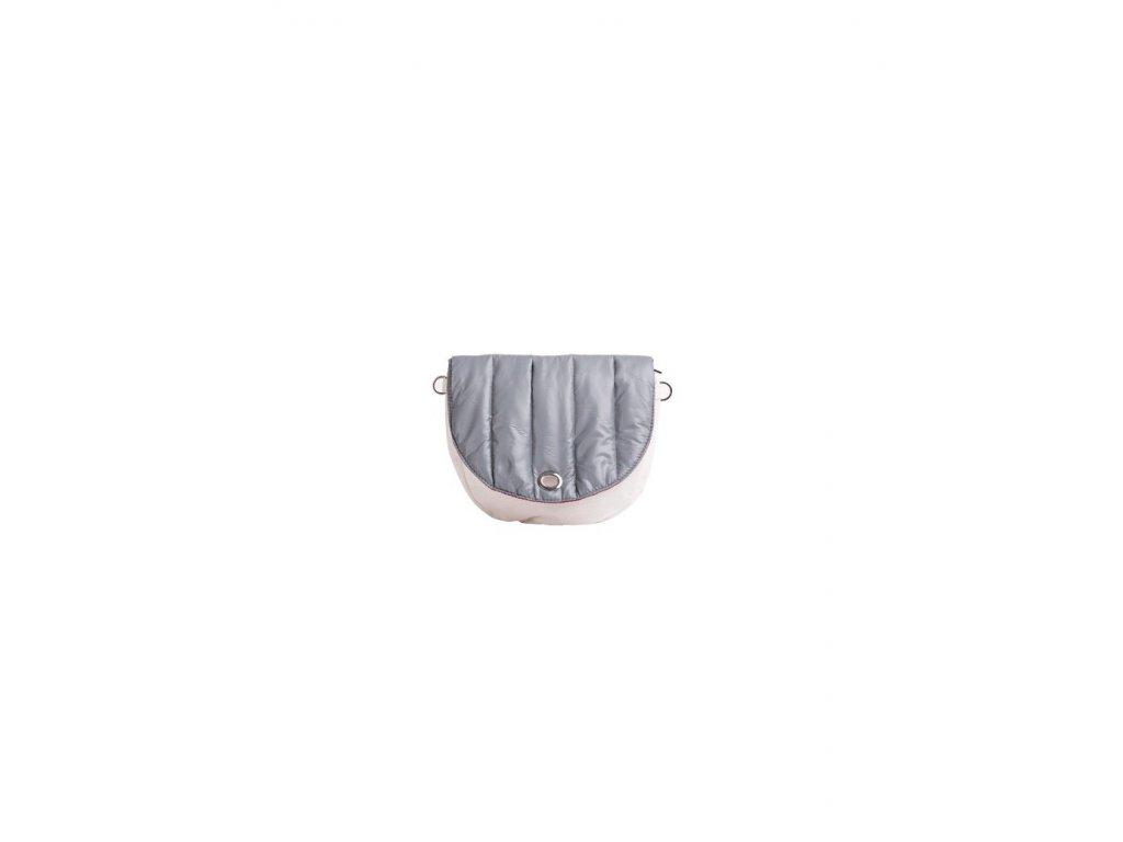 Vnitřní taška s klopou J-HOOP TRAPUNTATO GRIGIO