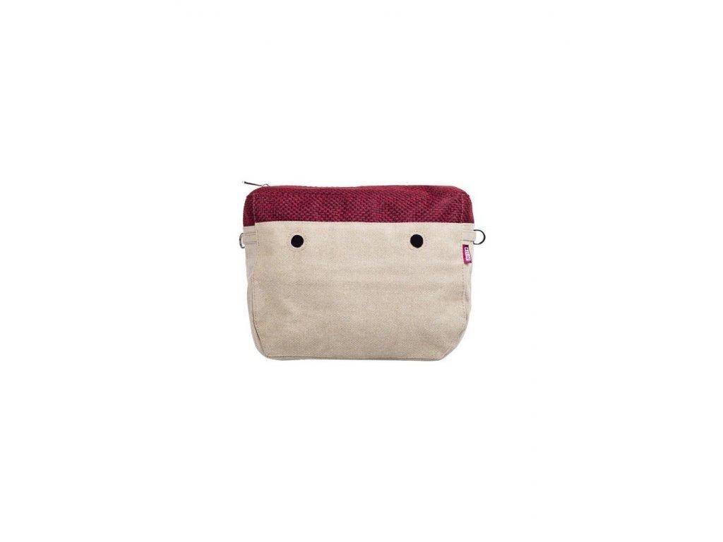Vnitřní taška střední SWING ROSSO
