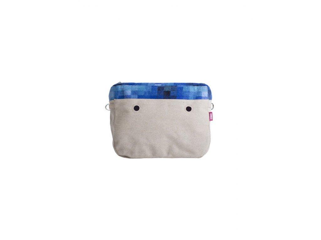 Vnitřní taška střední LANA PIXEL BLU