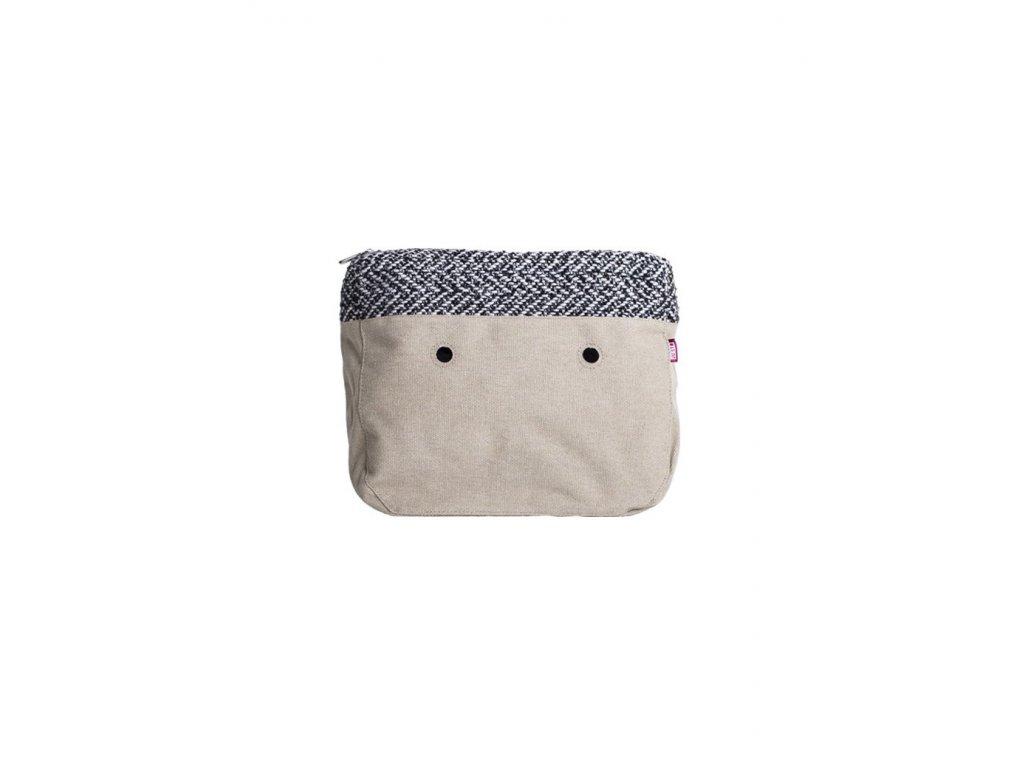 Vnitřní taška velká LANA BIANCA/NERA