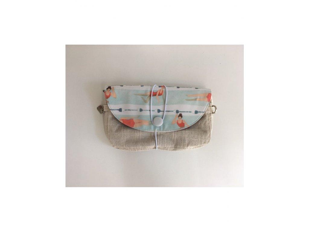 Vnitřní taška J-POSH s klopou SWIMMER