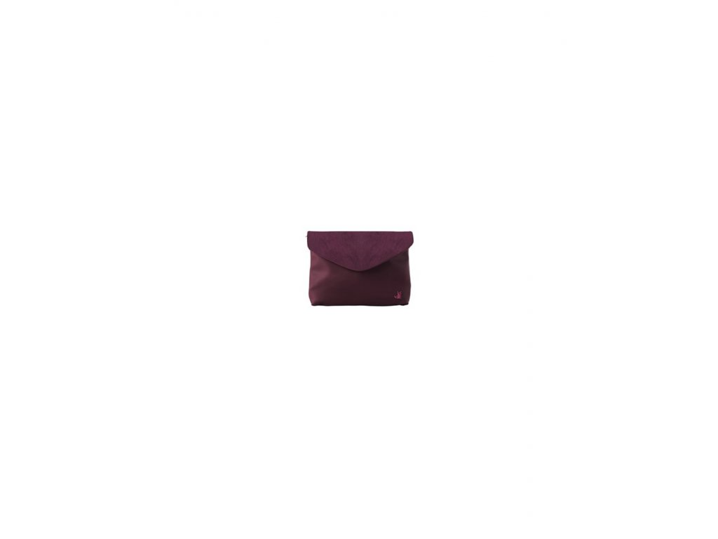 J-CLUTCH CAVALLINO BORDEAUX