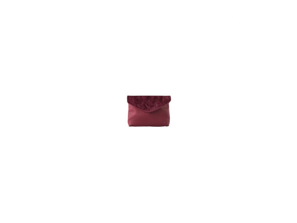 J-CLUTCH ECOPELLICCIA BORDEAUX