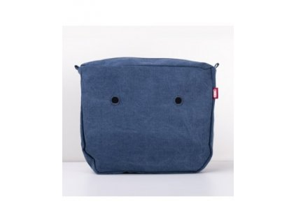 SACCA INTERNA WIDE CANVAS BLU